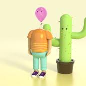 Mi Proyecto del curso: Diseño de personajes en Cinema 4D: del boceto a la impresión 3D. Un proyecto de Diseño, Ilustración y 3D de Sergio García Arribas - 10.03.2016
