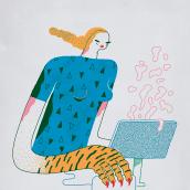 VI Jornadas de Diseño. Um projeto de Ilustração de Ana Galvañ - 31.03.2016