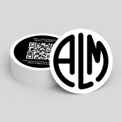 ALM round card. A Design, Illustration, Photograph, and Graphic Design project by Adán Lobato Mínguez - 01.09.2016