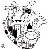 FeelCity. Un proyecto de Diseño, Ilustración, Dirección de arte, Bellas Artes, Cómic y Arte urbano de Gianni Antonucci - 05.04.2016