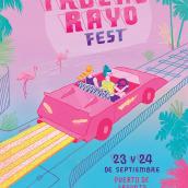 TruenoRayo Fest. Um projeto de Ilustração, Design gráfico e Tipografia de Ana Galvañ - 06.04.2016