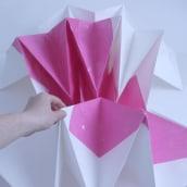 Plegar el Vacío [ #PaperArt ]. A Design, Fine Art, Set Design, and Paper Craft project by Pilar Barrios Varela - 04.08.2016