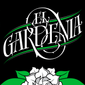 El Gardenia   Identidad & etiqueta. A Br, ing, Identit, and Calligraph project by GM Meave - 04.18.2016