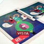 Diseño de portada para el nº1 de la revista de la escuela de arte de Cadiz. A Design project by JuanJo R Blik - 06.03.2015