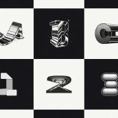 36 days of type B&W. Um projeto de Ilustração, Design gráfico, Tipografia e Caligrafia de Gonzalo Sainz Sotomayor - 09.05.2016
