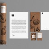 Terra Verde Branding. A Graphic Design project by Laura Del Rio - 05.12.2016