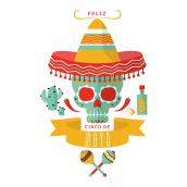 Feliz 5 de Mayo. A Graphic Design project by Laura Del Rio - 05.12.2016