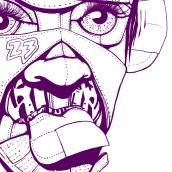 Sneaker Fever MX 2016. Sneaker head.. Un projet de Design , Publicité, Direction artistique, Br, ing et identité, Character Design, Beaux Arts, Design graphique, Peinture, Conception de chaussures , et Art urbain de Aníbal Pantoja - 16.05.2016