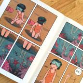 Alicia (para revista Voltio). Un projet de B, e dessinée , et Conception éditoriale de Ana Oncina - 26.05.2016