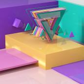 Perdiendo el miedo al 3d III. JM. . A Art Direction, and Design project by Juan Manuel - 05.26.2016