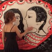 live-painting with music. Un proyecto de Bellas Artes de Anna Lisa Miele - 05.06.2016