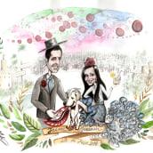 Jaime y Miriam. Um projeto de Ilustração de inma martinez - 06.06.2016