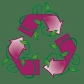 Logo Reciclaje para Juego de mesa EVA. Um projeto de Design de Eme Maria Ballesteros Escudero - 30.04.2016