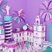 San antolin 2016 Palencia ( Propuesta de cartel ). Un proyecto de 3D de bydani - 07.07.2016