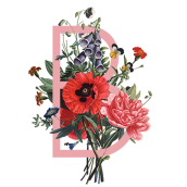Alfabeto botánico. A Kunstleitung und Design project by Lucía Alonso - 10.05.2016
