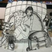 Dibujo e ilustración.... Un progetto di Illustrazione di Ivón Rodríguez - 26.08.2016