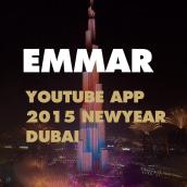 Emmar - Youtube App - Dubai New Year's Eve Gala. Um projeto de Direção de arte e Design interativo de Narciso Arellano - 05.09.2016