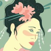 Oriental. Un proyecto de Ilustración de Rocio Florido Molero - 06.09.2016