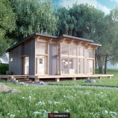 Casa Escandinava. A Design, Motion Graphics, 3D, Architecture, and Art Direction project by Shender3d - 09.07.2016