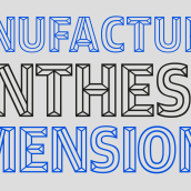 3D Experimental. Um projeto de Design gráfico e Tipografia de Carlos de Toro - 09.09.2016