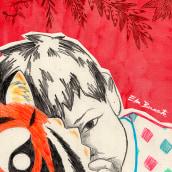 'Hu': Cuento infantil ilustrado. Un projet de Design , Illustration , et Conception éditoriale de Edu Benavente - 11.09.2016