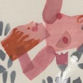 Portada e ilustración Cuentos para el Andén. Un proyecto de Ilustración de Isabel Vila Caballero - 14.02.2015