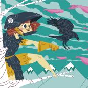 Tarjetas de visita v.2. Un proyecto de Ilustración de Cristian Barbeito Jerez - 06.09.2016