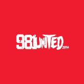 Festival 981UNITED. Um projeto de Design, Eventos, Design gráfico e Marketing de Humberto - 18.01.2016