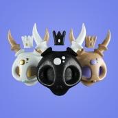 Skulls. Un proyecto de 3D de Javier Torres - 24.09.2016