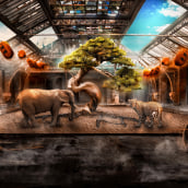 The Abandoned Tree, Mi Proyecto del curso: Secretos del fotomontaje y el retoque creativo. Un progetto di Fotografia di Jorge Soriano - 25.09.2016