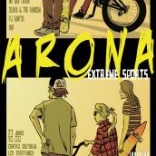 Cartel y banner para el Arona extreme sports. Un proyecto de Diseño, Ilustración, Publicidad, Br, ing e Identidad y Eventos de Ivan Retamas - 27.09.2016