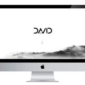 Web personal. Un proyecto de Diseño gráfico y Diseño Web de David Santás - 02.10.2016
