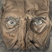 Dos galls en un gallier// Video Ilustrado Tv3 . A Illustration, Kino, Video und TV, 3-D und Bildende Künste project by Albert Vila - 09.01.2016