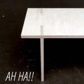 AH HA. Un proyecto de Diseño de muebles y Diseño industrial de Andres Gonzalez - 04.07.2016