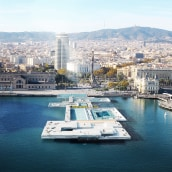 Piscinas Publicas Roca Gallery en Barcelona. Un proyecto de Diseño, Fotografía, 3D, Arquitectura, Arquitectura interior, Postproducción e Infografía de Phrame - 06.10.2016