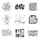 Hecho a Mano (lettering, monogramas y logos). A Br, ing und Identität, T, pografie und Kalligrafie project by Quique Ollervides - 16.10.2014
