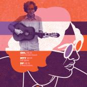 GIG POSTERS 02 (carteles/posters/afiches para la música). A Illustration, Grafikdesign und Siebdruck project by Quique Ollervides - 12.03.2015
