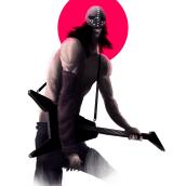 Wes Borland, ilustración. Un proyecto de Diseño, Ilustración, 3D, Animación, Diseño de personajes, Bellas Artes, Diseño de juegos y Cómic de Sergio Martorell - 19.10.2016
