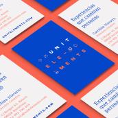 UNITELEMENTS — Experiencias que cambian personas. Un progetto di Br, ing e identità di marca, Graphic Design , e Marketing di Sarai Glahn - 23.10.2016