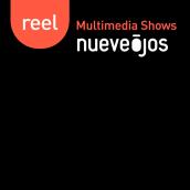 nueveojos Reel Multimedia Shows. Um projeto de Motion Graphics e Multimídia de nueveojos - 26.10.2016