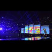 F.C. Barcelona. celebración Triplete. Um projeto de Motion Graphics, Multimídia e Vídeo de nueveojos - 26.10.2016