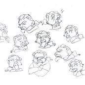 Expressions. Un progetto di Animazione di Marta sanchez - 04.11.2016