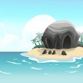 BG design Video-game combat - Pirate island + platform. Un progetto di Animazione, Belle arti, Progettazione di giochi , e Fumetto di Marta sanchez - 31.05.2016