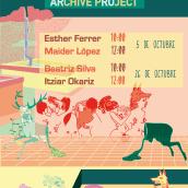 """Cartel """"Proyecto Archivo"""" para la Universidad del Pais Vasco. Un progetto di Illustrazione, Belle arti, Graphic Design , e Calligrafia di Raquel Requejo - 04.11.2016"""