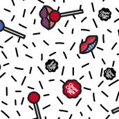 Patterns para Chupa Chups. Un projet de Design , Design graphique , et Conception de produits de Ramón Nicolás Sabater - 19.09.2016