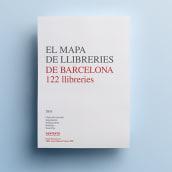 El mapa de llibreries de Barcelona. Un proyecto de Diseño editorial y Diseño gráfico de Pack Up - 09.11.2016