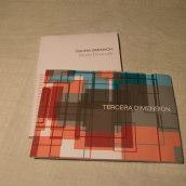 tercera dimension libro. Um projeto de Design editorial e Design gráfico de Eva Gonzalez Rubio - 11.11.2016