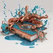 20.000 LEGUAS DE VIAJE SUBMARINO. A 3D project by Conspiracystudio - 10.13.2016