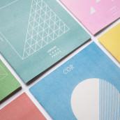 COR - Riso printed fanzine, cover and logo design. Un proyecto de Ilustración, Diseño editorial y Diseño gráfico de Francesca Danesi - 10.10.2016