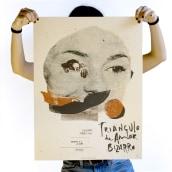 Pósters para Sonorama Festival. A Illustration, Kunstleitung, Grafikdesign und Siebdruck project by Münster Studio - 22.11.2016